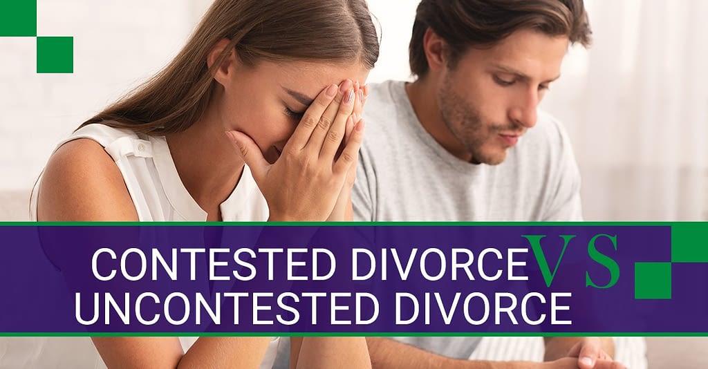 Contested Divorce vs Uncontested Divorce in Missouri